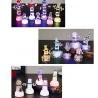 Buy cheap Snow Shape Color Changing Led Night Light , Acrylic Led Snowman For Outdoor Decorative from wholesalers