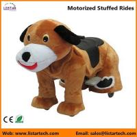 Buy cheap Battery Operated Motorized Stuffed Rides on Toys for kids and adult-Dog from wholesalers