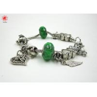 Buy cheap Fashionable Alloy Beaded Jewellery Pandora Charm Bracelets Personalized For Girls product