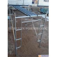 Buy cheap Open End Frame Scaffolding System , Steel Stair Scaffolding System Height 1930mm from wholesalers