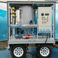 Buy cheap CE Certified Vacuum Transformer Oil Filtration Machine with Pheumatic Tyres from wholesalers