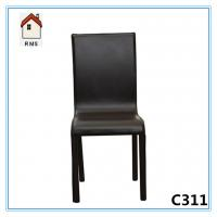 Buy cheap high quality black leather dining room furniture C311 from wholesalers