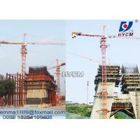 Buy cheap qtz 160 The Tower Crane 60 meter Electric Top Slewing Kind of Tower Kren from wholesalers
