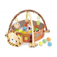 Buy cheap Portable Baby Gym Playmat Children's Play Toys W / Balls Protective Fence 30 Inch from wholesalers