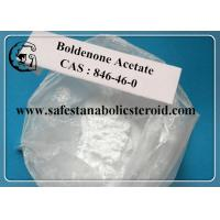 Buy cheap CAS 846-46-0 Muscle Building Steroids Oral Boldenone Acetate Powder , Effective Male Hormone from wholesalers