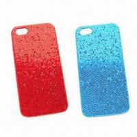 Buy cheap Plastic Cover and PU Leather Case for iPhone 5, Available in Various Style from wholesalers