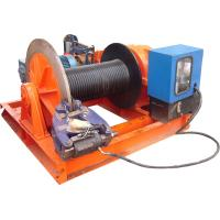 Buy cheap 15t Lifting Load Electric Cable Hoist Winch Consisting Of A Horizontal Cylinder from wholesalers