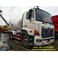 Buy cheap Original Japan Used Cement Mixer Truck 8375 * 2496 * 3950 Mm SGS Approved from wholesalers