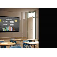 Buy cheap 65 '' 75 '' 86 '' LED / Lcd Interactive Whiteboard , Touch Screen Board For Schools from wholesalers