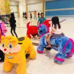Buy cheap Hansel plush animal ride walking dinosaur costume kids games toy on wheels from wholesalers