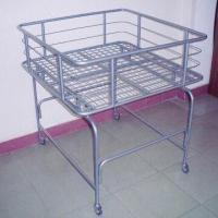 Buy cheap Steel Wire Bin with Four Casters and Powder Coating Surface Finish, Measues 900x900x950mm product