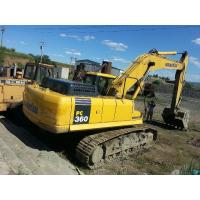 Japan PC360 - 7 Second Hand Komatsu Excavator 1.6 Square Bucket Capacity