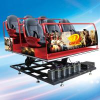 Buy cheap Guangzhou Sunfun hot sale 5D cinema system 6 seats, free 5D movie offered from wholesalers