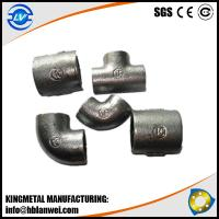 Buy cheap Plain GI Cast Iron Pipe Fitting Malleable Iron Pipe Fittings from wholesalers