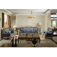 Buy cheap Luxury Sofa sets FACTORY direct sales price for Imported Italy Leather cushion and upholstered for Villa living rooms from wholesalers
