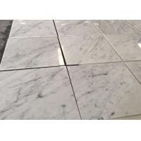 Buy cheap Customized White Carrara Marble Natural Stone Tiles Polished Surface from wholesalers