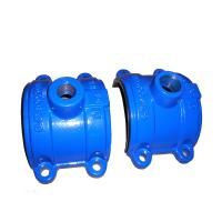Buy cheap ISO Casting Ductile Iron Saddle Tee Without Flange 300psi DN80 to DN2000 from wholesalers
