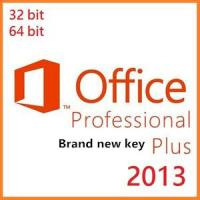 Buy cheap Microsoft Office Product Key Codes, Office Professional Plus 2013 Brand New OEM Key product