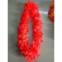 Buy cheap collier hawai blanc Promotion Customized Rainbow Hawaiian Flower Lei Party Decoration Necklace from wholesalers