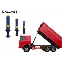 Buy cheap Dump Truck  Single Acting Hydraulic Ram 3 / 4 / 5 Stage Chrome Telescopic from wholesalers