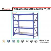 Buy cheap Lightweight Z Beam Bulk Rack Shelving Units With Steel Decking For Warehouse from wholesalers