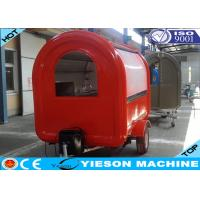 Buy cheap Fiberglass Colorful Mobile Kitchen Concession Trailer Food Catering Trucks from wholesalers