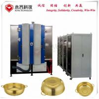Buy cheap Colander Stainless Steel Titanium Nitride Coating Machine With Ion Plating System from wholesalers