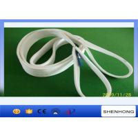 Buy cheap Polyester Flat Webbing Sling Web Sling Lifting Sling With 100mm Eye from wholesalers