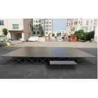 Buy cheap used outdoor staging portable concert stage design portable catwalks stages used platform stage from wholesalers