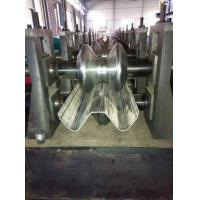 Buy cheap W Beam Guardrail Roll Forming Machine Highway Crash Barrier product