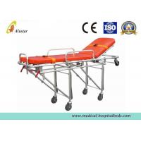 Buy cheap Aluminum Alloy Folding Hospital Ambulance Stretcher Trolley Automatic Loading Stretcher ALS-S006 from wholesalers