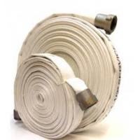 Buy cheap Resistant PVC Lined Canvas Fire Hose Matched With Jet Spray Nozzle / Branchpipe product