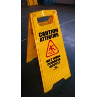 Buy cheap Cheap Price! Polypropylene Plastic A Shape Warning Sign Road Safety Sign Board from wholesalers