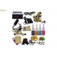 Buy cheap Travel Power Supply Starter Tattoo Kits With Practice Skin / Tattoo Beginner Kit from wholesalers