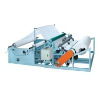 Buy cheap Tissue paper rewinding slitting machine for Tissue paper converting machinery from wholesalers