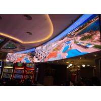 Buy cheap Slim Audio Visual Front Service Led Display , P3 Indoor Led Video Wall Panel from wholesalers