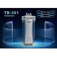 Buy cheap 1800W Vertical 5 Handles Cryolipolysis Fat Freeze Slimming Machine 10.4 Inch Touch Screen product