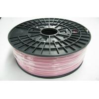 Buy cheap Pink 1.75mm Plastic Filament For Desktop 3D printer / 3D ABS Filament product