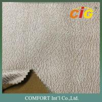 Buy cheap Bronze Suede Fabric Sofa Upholstery Fabric For Chairs / Cushions / Car Seat product