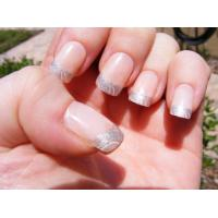 Buy cheap Girls Candy Nail Art Fake Nails Full Cover With Stickers , 3D nail tips from wholesalers