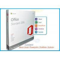 Online Activation Microsoft Office 2016 Pro Standard License 1 PC DVD