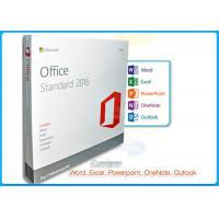 Online Activation Microsoft Office 2016 Pro Standard License 1 PC DVD