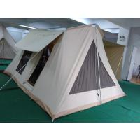 Buy cheap family outdoor camping canvas tent safari tent from wholesalers