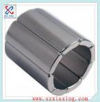 Buy cheap n50 sintered arc segment ndfeb magnetic magnet for servo motors from wholesalers