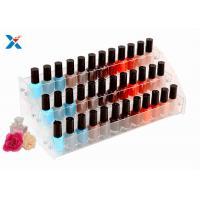 Buy cheap Nail Polish Counter Acrylic Display Rack Showcase Multi Tiered Good Chemical Resisdence from wholesalers