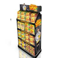 Buy cheap Grocery Noodles Food Retail Paper Black Display Paper Showcase from wholesalers