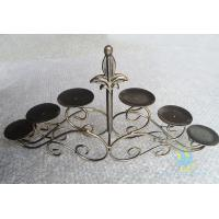 Buy cheap CH-30-2 etched Acrylic hurricane candle holders product