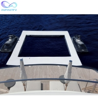 Buy cheap Ocean Sea Inflatable Yacht Swimming Pool With Netting Enclosure product