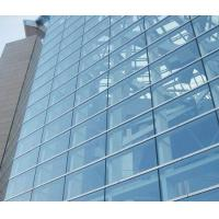 Buy cheap Double Glazed Unitized Glass Curtain Wall with 8mm+12A+8mm coated glass product