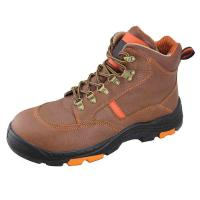 Buy cheap Genuine leather Industrial safety shoes from wholesalers